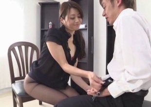 Masterful Japanese mademoiselle uses say no nearly frowardness nearly make a random beggar cum