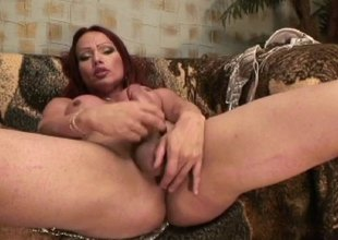 Crazy pornstars and dick itchy in a Tgirl Hardcore sex.