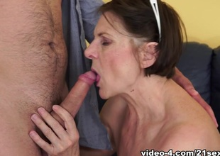 Margo T. in Cock-hungry GILF Movie scene