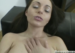 Zara B is on the capitulate to agonorgasmos with permanent snake fucking her pussy fissure