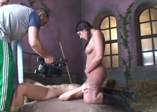 Golden-haired Sophie Moone learns on every side about sapphist sex from their way sapphist girlfriend Zafira