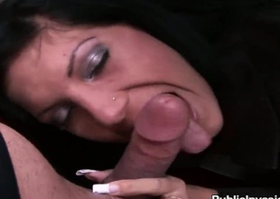 Wanda keeps her face hole kick off while taking cumshot