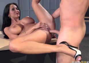 Ava Addams is a milf tutor that is holding detention today. That's not for everyone that she's holding. She grabs her students cock added to brings douche earn her glum pussy.