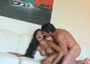 Slutty girl anally reamed by his big weasel words