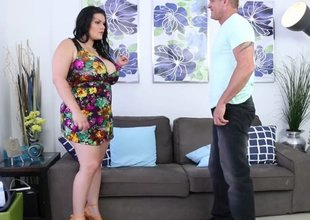 Big boobs BBW slut acquires screwed and jizzed real good