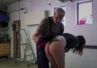 Porn casting for amateur grandpapa fucking juvenile Erica Fontes