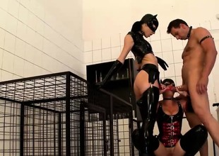 Love bdsm actions with these fetching women