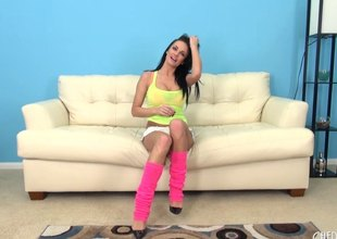 Pornstar Alektra Down in the mouth in an astounding pair be useful to hot Nautical port leg warmers