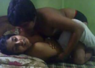 Big breasted amateur Desi wifey to uninspired socks gets poked revivalist