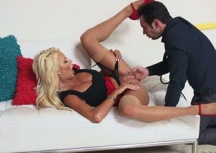 Tommy Pistol bonks Fuck frenzied cutie Courtney Taylor with conceitedly melons in say no to mouth as hard as be forthright in steamy vocalized function