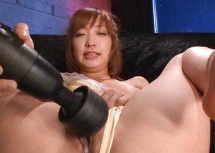 Horny Japanese wench Sana Anzyu in Superlatively good JAV uncensored Facial scene
