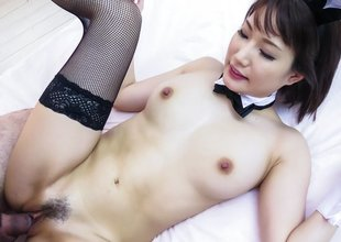Palpitate Japanese whore Mikuni Maisaki in Crazy JAV uncensored Blowjob movie