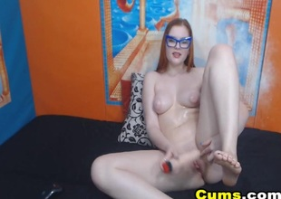 Slutty Comme �a Babe Masturbate say no to Pussy