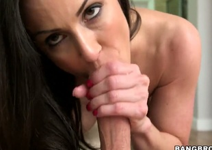 Kendra Craving with phat a-hole makes her sex partner unload after sex