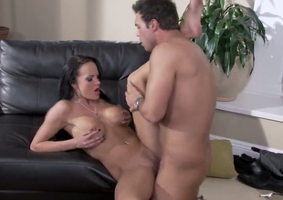 Alektra Low-spirited can't live without giving mouthjob