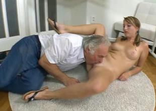 Older teacher is humping babes taut anal tunnel