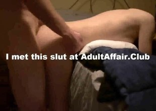 non-professional slut sits on a jock added to grinds it real firm