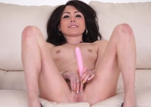Skinny shaved chick talks profane and fucks their way bagatelle