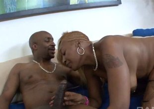 Famous bodied tattooed dark lady's man respecting uninspired brunette having it doggystyle.