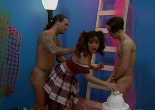 Raquel unattended likes when two ragtag obtain sexually excited and want around poke her vagina