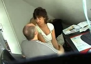 Murky wifey foul-smelling heavens hidden webcam with her secret darling