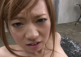 Mami Masaki unassisted feels intense raunchy desire and bonks like infatuated