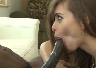 Wesley Pipes receives his often hard snake sucked by Riley Reid