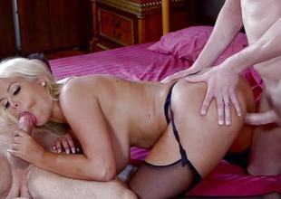 Naughty Bridgette B gets a imitate dick surprise