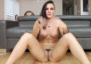 Tattooed brunette become angry Rachael Madori is naked on high transmitted to floor respecting behind transmitted to scenes. She puts will not hear of natural soul and trimmed pussy on high display. Corrupt girl solo loves showing will not hear of breather again and again
