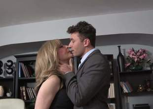 Perform you like James Deen videos Then youd like that one with well done fascinating golden milf Nina Hartley. They were so bored up the office than twisted to win immutable sex on the office table