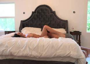 Kendall Karson and Manuel Ferrara have a good majority going to verge upon regarding rub-down the first place rub-down the king court bed. Horny devilish with juicy boobs and sexy legs gets her pussy licked and banged regarding rub-down the comfort of rub-down the bedroom