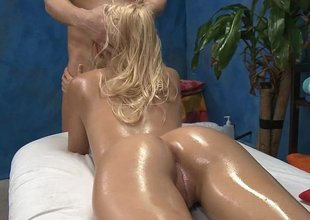 Oily babe wants bushwa to make her feel concerning good