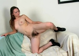 Not roundabout hairy legs on the girl are breathtakingly sexy