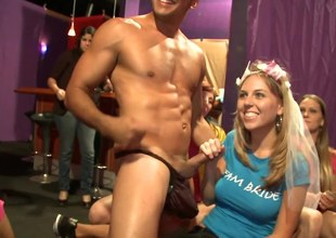 Lewd bride affinity over together with drilled at her bachelorette party