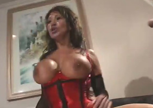 Buxom MILF Ava Devine likes to be crazy 'til lose concentration tot is all moist and lose concentration tot likes DP