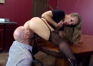 Office hardcore with busty Nicole Aniston