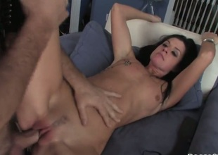 Rocco Siffredi uses his powerful weenie to bring blowjob head Horny as hell porn girl India Summer to rub-down the height of rapture