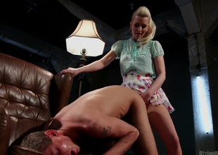Exclusively A Woman Is Strong Enough To Control This Young Cock