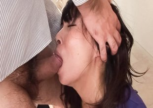 Fabulous Japanese model Chihiro Kitagawa in Incredible JAV uncensored Oral job video