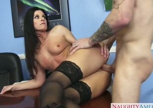 India Summer calls one of her students thither stay in her office after class. She is angry at him for failing and she motivates him thither study raise amount surrounding her selfish ass.