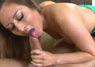 Shady haired hottie Bliss Dulce gives a oral job in 69 position and gets her delicious pussy tongue screwed handy the same time. Will Powers gets his phony load of shit sucked to one's liking by sexy looker