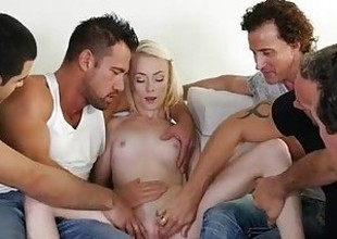 MyVeryFirstTime - New uncensored abridgement - Maddy Crunch at one's best waggish ribbon team fuck