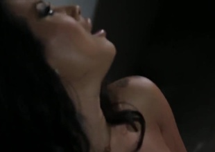 Asa Akira is too excited to stop masturbating