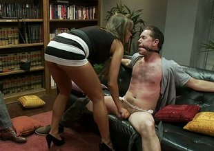 At home wife cuckolds their way hubby while neighbour watches