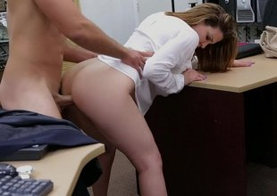 Busty babe with stained pussy tastes load of shit in a difficulty matter of a difficulty election