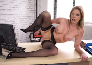 Office JOI from a stockings indulge