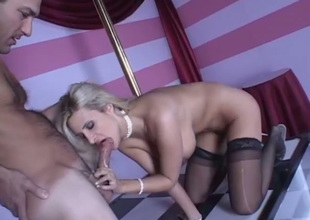 This Mr Big comme ci is a true pole dancer with an increment of this babe loves having her pussy licked