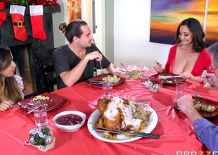 Christmas milf slut Ava Addams invites him prevalent fuck will not hear of cunt