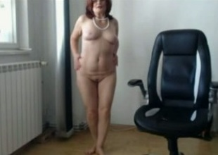 Mature and scurrilous Moldovan housewife is acquiring without control