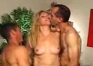 Hot MILF Hermaphrodite Threesome